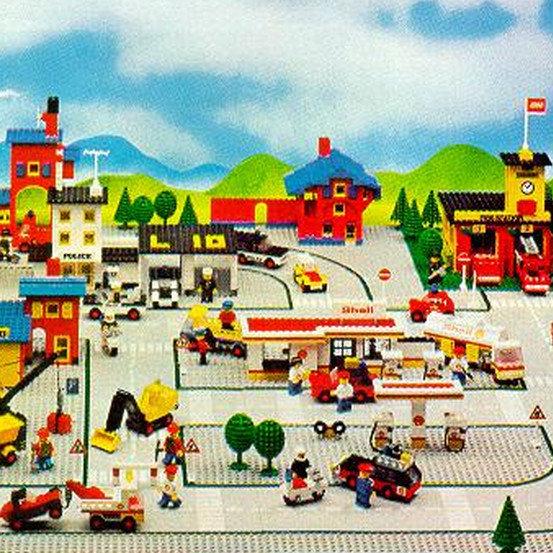 1976 Replica Pre-Cut Sticker for Legoland Set 369 Coast Guard Station