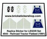 Lego-4543-Railroad-Tractor-Flatbed-(1991)