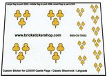 Precut-Custom-Sticker-for-Lego-Classic-Shamrock-Lelypads-Flags