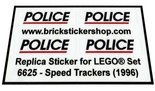 Precut-Replica-Sticker-for-Lego-Set-6625-Speed-Trackers-(1996)