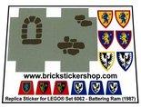 Precut-Replica-Sticker-for-Lego-Set-6062-Battering-Ram-(1987)