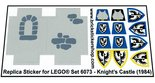 Precut-Replica-Sticker-for-Lego-Set-6073-Knights-Castle-(1984)