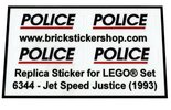 Precut-Replica-Sticker-for-Lego-Set-6344-Jet-Speed-Justice-(1993)