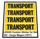 Precut-Replica-Sticker-for-Lego-Set-163-Cargo-Wagon-(1977)