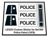 Lego-644-Police-Patrol-(1978)