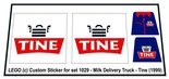 Precut-Replica-Sticker-for-Lego-Set-1029-Milk-Delivery-Truck-Tine-(1999)