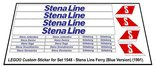 Precut-Replica-Sticker-for-Lego-Set-1548-Stena-Ferry-Line-(1991)(Blue-Version)