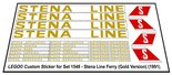 Precut-Replica-Sticker-for-Lego-Set-1548-Stena-Ferry-Line-(1991)(Gold-Version)