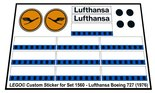 Precut-Replica-Sticker-for-Lego-Set-1560-Lufthansa-Boeing-727-(1976)