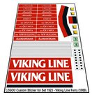 Precut-Replica-Sticker-for-Lego-Set-1923-Viking-Line-Ferry-(1989)