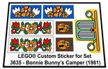 Precut-Replica-Sticker-for-Lego-Set-3635-Bonnie-Bunnys-Camper-(1981)
