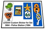 Precut-Replica-Sticker-for-Lego-Set-3664-Police-Station-(1984)