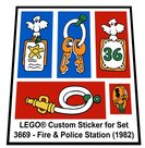 Precut-Replica-Sticker-for-Lego-Set-3669-Fire-&-Police-Station-(1982)