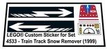 Precut-Replica-Sticker-for-Lego-Set-4533-Train-Track-Snow-Remover-(1999)