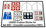 Lego-4551-Crocodile-Locomotive-(1991)