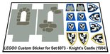 Precut-Replica-Sticker-for-Lego-Set-6073-Knights-Castle-(1984)