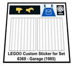 Lego-6369-Garage-(1985)