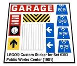 Lego-6383-Public-Works-Center-(1981)