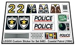 Precut-Replica-Sticker-for-Lego-Set-6483-Coastal-patrol-(1994)