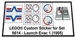 Lego-6614-Launch-Evac-1-(1995)