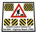 Precut-Replica-Sticker-for-Lego-Set-6647-Highway-Repair-(1980)
