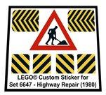 Lego-6647-Highway-Repair-(1980)