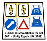 Lego-6671-Utility-Repair-Lift-(1989)