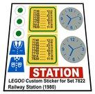 Lego-7822-Railway-Station-(1980)