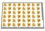 Lego-Custom-Sticker-for-Ganda-Korfbal-Team-(Uit-tenue)