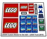 Precut-Replica-Sticker-for-Lego-Set-3221-LEGO-Truck-(2010)