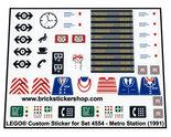 Precut-Replica-Sticker-for-Lego-Set-4554-Metro-Station-(1991)