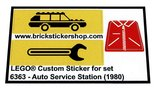 Precut-Replica-Sticker-for-Lego-Set-6363-Auto-Service-Station-(1980)
