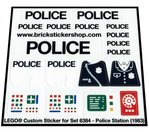 Precut-Replica-Sticker-for-Lego-Set-6384-Police-Station-(1983)