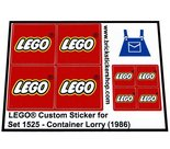 Precut-Replica-Sticker-for-Lego-Set-1525-Container-Lorry-(1986)