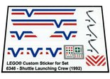 Precut-Replica-Sticker-for-Lego-Set-6346-Shuttle-Launching-Crew-(1992)