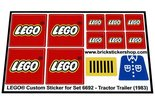 Precut-Replica-Sticker-for-Lego-Set-6692-Tractor-Trailer-(1983)