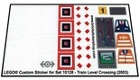 Precut-Replica-Sticker-for-Lego-Set-10128-Train-Level-Crossing-(2003)