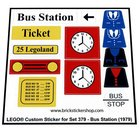 Lego-379-Bus-Station-(1979)