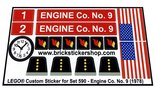Precut-Replica-Sticker-for-Lego-Set-590-Engine-Co.-No.-9-(1978)