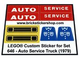 Precut-Replica-Sticker-for-Lego-Set-646-Auto-Service-Truck-(1979)