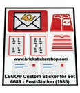 Precut-Replica-Sticker-for-Lego-Set-6689-Post-Station-(1985)