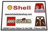 Precut-Replica-Sticker-for-Lego-Set-3308-Tribune-(1998)