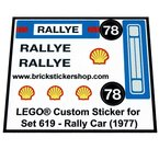 Precut-Replica-Sticker-for-Lego-Set-619-Rally-Car-(1977)
