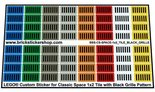 Lego-Custom-Stickers-for-Classic-Space-Tiles-1x2-with-Black-Grille