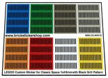 Lego-Custom-Stickers-for-Classic-Space-Tiles-1x4-with-Black-Grille