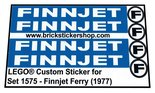 Precut-Replica-Sticker-for-Lego-Set-1575-Finnjet-Ferry-(1977)