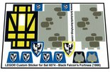 Precut-Replica-Sticker-for-Lego-Set-6074-Black-Falcons-Fortress-(1986)