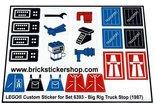 Lego-6393-Big-Rig-Truck-Stop-(1987)