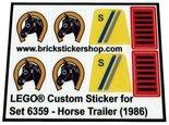 Lego-6359-Horse-Trailer-(1986)