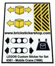 Precut-Replica-Sticker-for-Lego-Set-6361-Mobile-Crane-(1986)